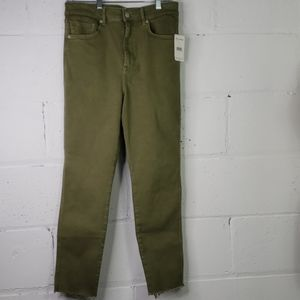 Nwt free people army green jeans